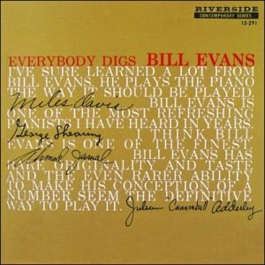 Bill Evans - Everybody Digs Bill Evans_Cover_Riverside_1959