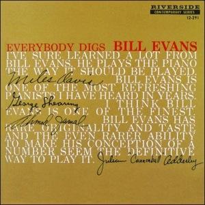 Bill Evans - Everybody Digs Bill Evans_Cover_Riverside_1959